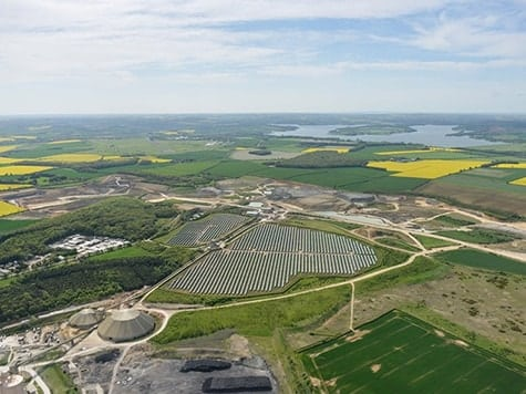 Cement works | Ketton solar farm, Rutland