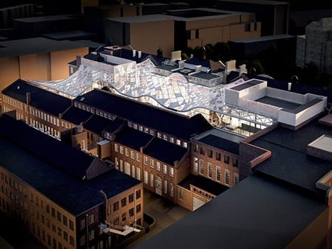 Heritage asset re-development | St George's Campus, Sheffield