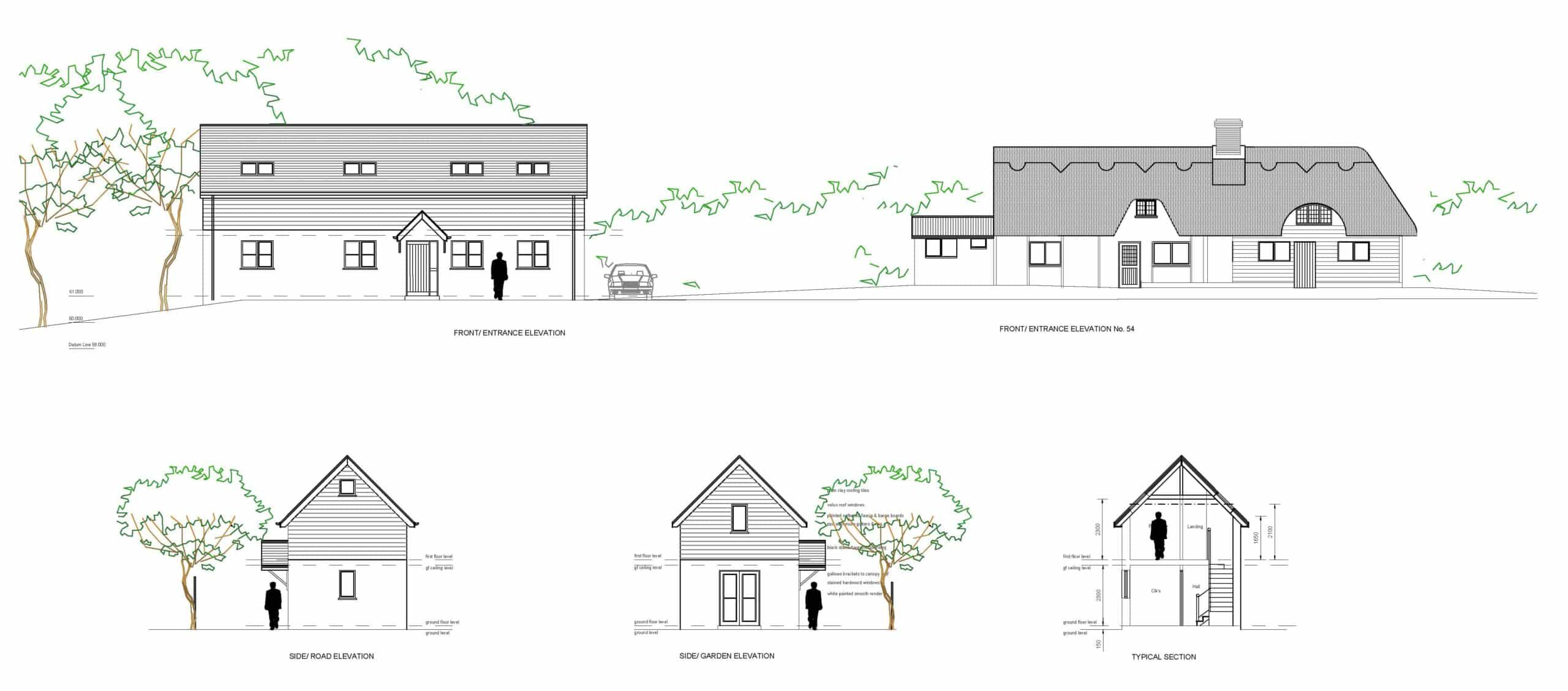 PLANNING PERMISSION FOR INFILL DWELLING WITHIN SETTING OF A LISTED BUILDING