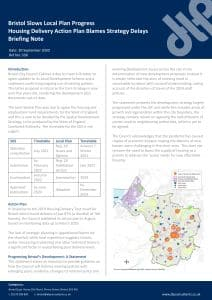 338 Briefing Bristol Local Plan Updates